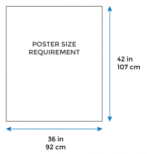 poster size template
